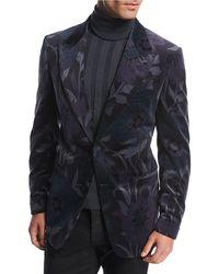 Tom Ford - Shelton Base Floral Velvet Dinner Jacket - Lyst