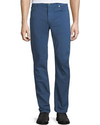 Ferragamo - Men's Garment-dyed 5-pocket Denim Pants - Lyst