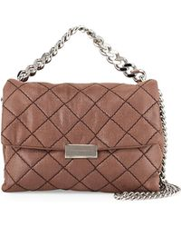 Stella McCartney - Bex Small Quilted Flap Shoulder Bag - Lyst