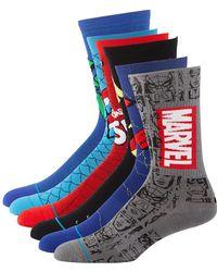 Stance - Men's 6-pack Marvel Sock Gift Set - Lyst