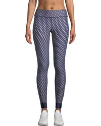 The Upside - Kravat Printed Yoga Pants - Lyst