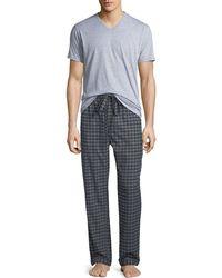 Neiman Marcus - Men's Two-piece Flannel Pyjama Gift Set - Lyst