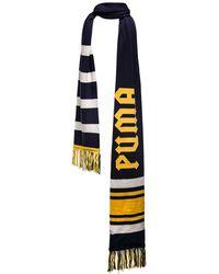 PUMA - Striped Varsity Scarf - Lyst