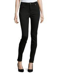 Burberry Brit - Low-rise Denim Skinny Jeans - Lyst