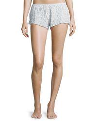 Xirena - Shyla Pinstriped Lounge Shorts - Lyst