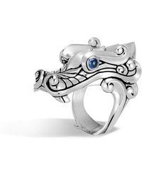 John Hardy - Men's Legends Sapphire Dragon Ring - Lyst