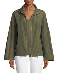 Lafayette 148 New York - Colton Empirical Tech Cloth Jacket - Lyst