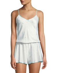 Kate Spade - Dotted Satin Bridal Romper - Lyst