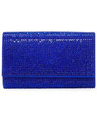 Judith Leiber - Crystal-embellished Crossbody Bag - Lyst