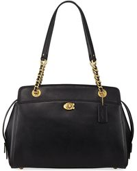 COACH - Parker Refined Leather Tote Bag - Lyst