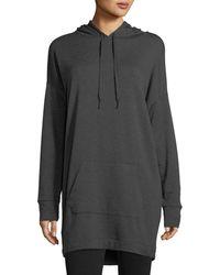 Beyond Yoga - Hood Times Oversized Sweatshirt Dress - Lyst
