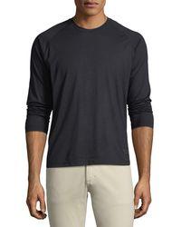 Z Zegna - Men's Techmerino Jersey Long-sleeve T-shirt - Lyst