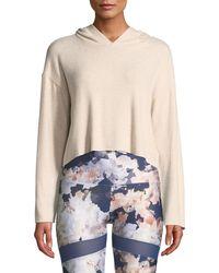 Onzie - Weekend Cropped Pullover Hoodie - Lyst