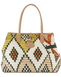 Longchamp   Roseau Paniers Dart Shoulder Bag   Lyst