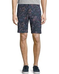 Etro - Floral-print Bermuda Shorts - Lyst
