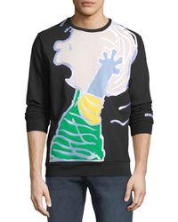 Iceberg - Men's Peanuts Linus Graphic-appliqué Sweatshirt - Lyst