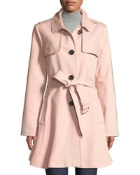 Kate Spade - Belted Rain Trench Coat - Lyst