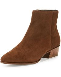 Aquatalia - 40mm Fire Suede Ankle Boot - Lyst