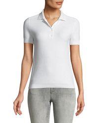 Loro Piana - Beau Solo Silk/cotton Polo Shirt - Lyst