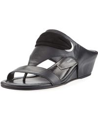 Donald J Pliner - Dionne Demi Wedge Slide - Lyst