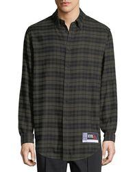 Alexander Wang - Men's Plaid Flannel Sport Shirt - Lyst