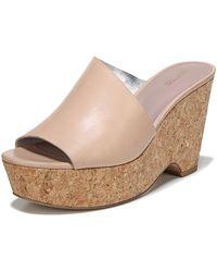 Diane von Furstenberg | Bonnie Wedge Platform Slide Sandal | Lyst