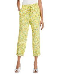 Boutique Moschino - Lemon-print Crop Pants - Lyst