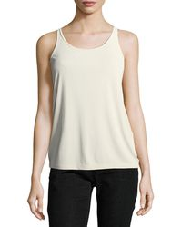 Eileen Fisher - Silk Jersey Long Slim Camisole - Lyst