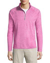 Peter Millar - Sydney Half-zip Pullover Sweater - Lyst
