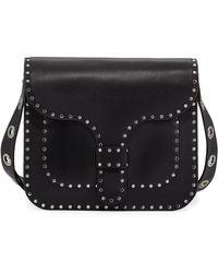 Rebecca Minkoff | Midnighter Large Leather Messenger Bag | Lyst
