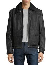 Joe's Jeans - Men's Lauda Leather Jacket - Lyst