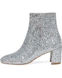 Mansur Gavriel - Glitter Ankle Boot - Lyst