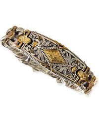 Konstantino | Myrmidones Men's Filigree Link Id Bracelet | Lyst