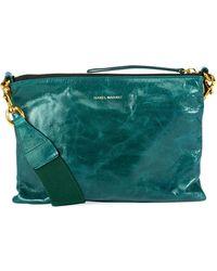 Isabel Marant - Nessah Leather Shopper Crossbody Bag - Lyst