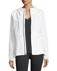 Under Armour | Outrun The Storm Zip-front Hooded Performance Jacket | Lyst