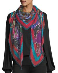 Jane Carr - Decoupage Square Scarf - Lyst