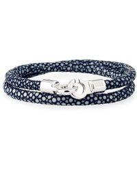 Brace Humanity | Men's Stingray Wrap Bracelet | Lyst