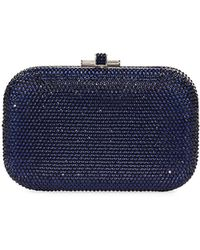 Judith Leiber Couture | Crystal Slide-lock Clutch Bag | Lyst