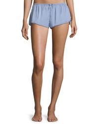 Xirena - Shaya Cotton Lounge Shorts - Lyst