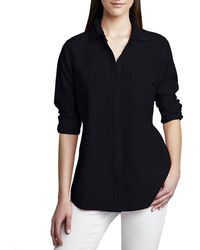 Go> By Go Silk - Safari Long-sleeve Silk Shirt - Lyst