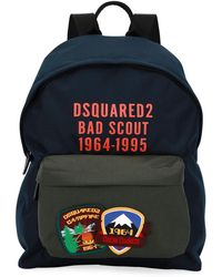 DSquared² | Bad Scout Patched Backpack | Lyst