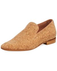 Donald J Pliner - Men's Pazano Herringbone Cork Loafer - Lyst