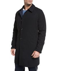Vince - Water-resistant Reversible Macintosh Coat - Lyst