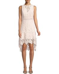 Joie - Bridley Lace High-low Dress - Lyst