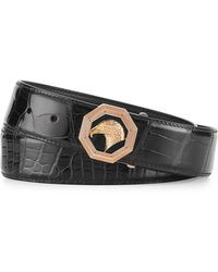 Stefano Ricci - Crocodile Belt With Rose Golden Eagle Buckle - Lyst