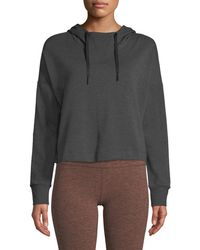 Beyond Yoga - Sedona Cropped Pullover Hoodie - Lyst