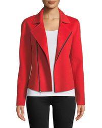 Neiman Marcus - Luxury Double-faced Cashmere Moto Jacket - Lyst