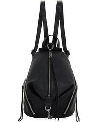 Rebecca Minkoff - Julian Medium Leather Backpack - Lyst
