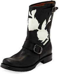 Frye - Veronica Floral Cutout Boot - Lyst