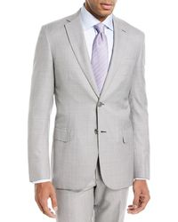 Brioni - Houndstooth Wool-silk Two-piece Suit - Lyst